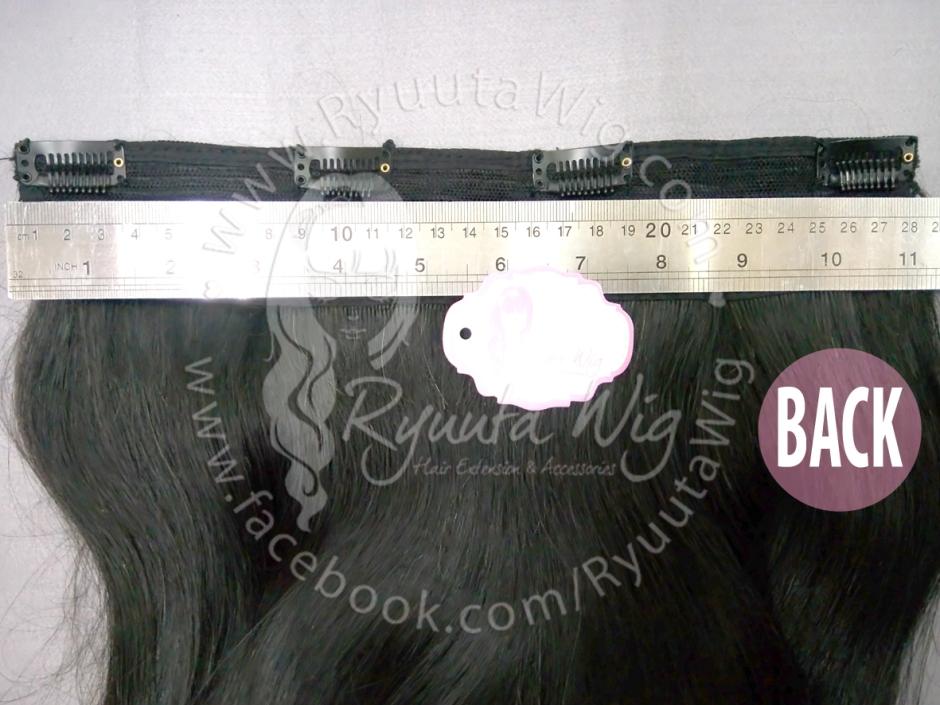 Human hair big layer hair extension clip ryuuta wig hair human hair big layer hair extension clip pmusecretfo Images