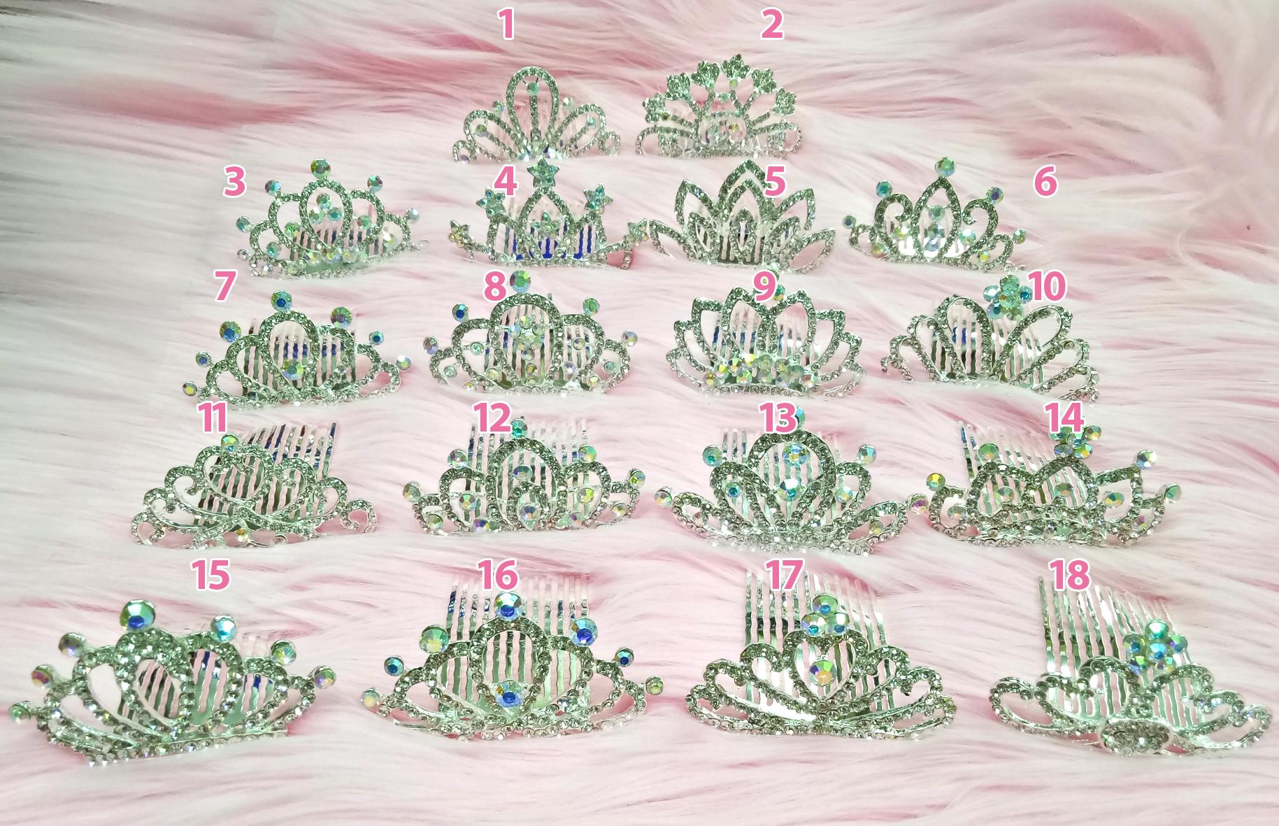 Sirkam Mahkota Ryuuta Wig Hair Extensions Accessories Hello Kitty Sisir Aksesoris
